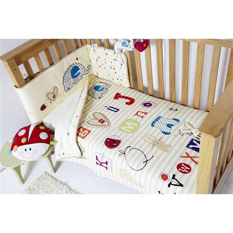 cot coverlet clair de lune clair de lune abc 2 piece cot cot bed