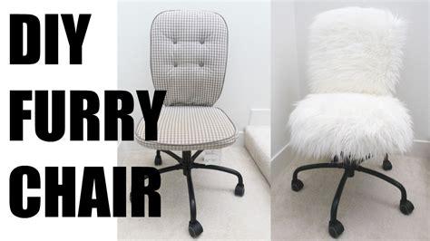 Diy fur chair more serein youtube