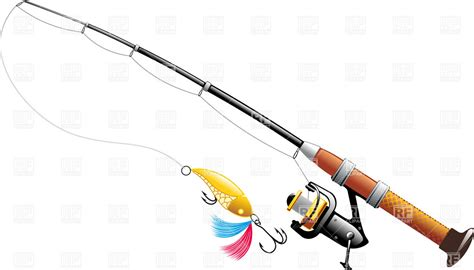 rod clipart fishing rod and reel clip www pixshark images