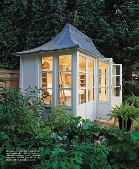 potting shed for the home cottage cabin pinterest