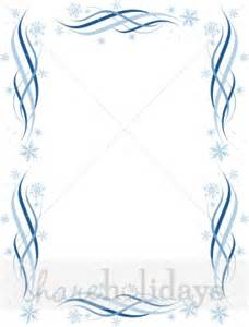 tinsel and snowflake border christmas borders