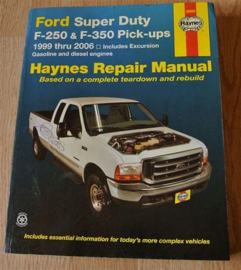 online service manuals 2006 ford f 350 super duty electronic throttle control find haynes ford super duty f 250 f 350 truck repair manual 1999 2006 gas diesel motorcycle in