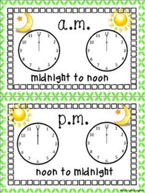 aump mtime 1000 images about learning to tell time on pinterest