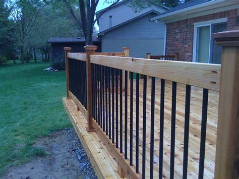 deck railings mi deck railings autumnwoodconstruction s