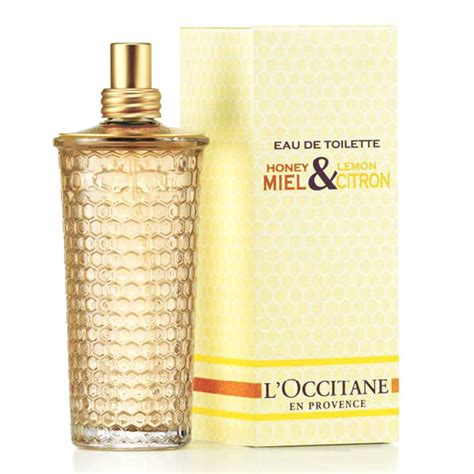 L Fragrance miel citron honey lemon l occitane en provence perfume a fragrance for 2007