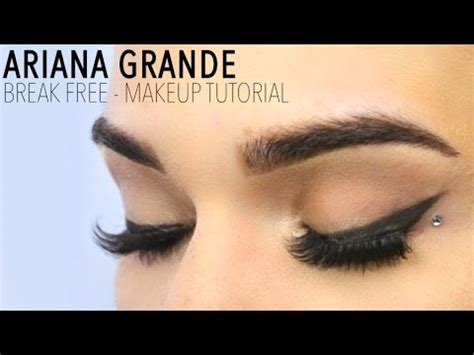 dance tutorial ariana grande break free dotty winged liner videolike