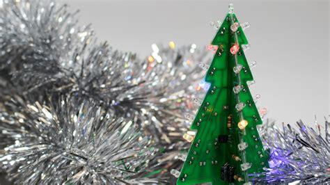 tischdeko blinkender led weihnachtsbaum make