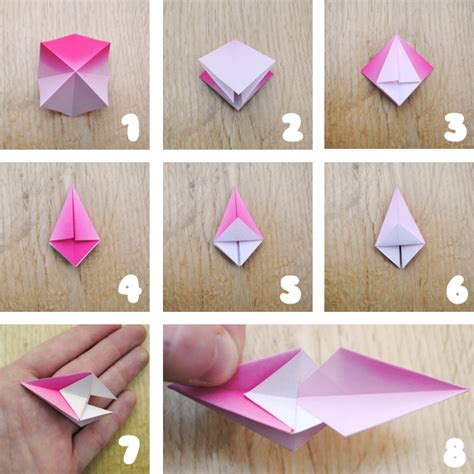 Simple Origami Decorations - origami hanging decorations minieco