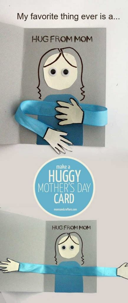 Make A Mothers Day Card Template by Make A Huggy S Day Card Craft And Crafters