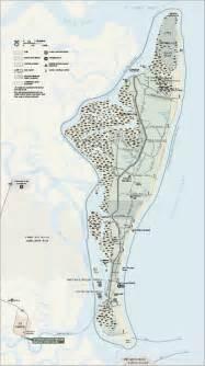 cumberland island national seashore map cumberland