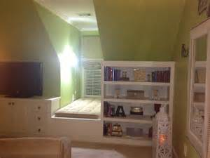 Dormer Bedroom Designs Bedroom Dormer Built Ins