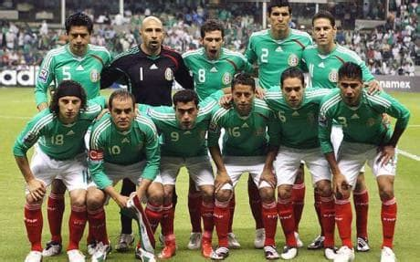 mexico team at world cup 2010 telegraph