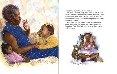 amazing picture books amazing grace kinder books