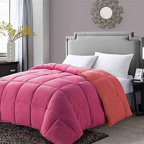 colored down alternative comforter buy vcny paradise reversible down alternative full queen