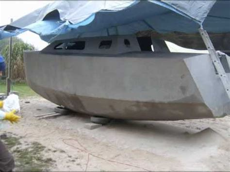 aluminium catamaran hull thickness boat building wmv youtube