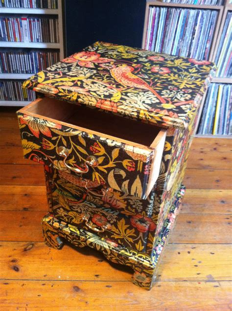 Paper For Decoupage On Furniture - lorsten 187 decoupage drawers furniture morris 4