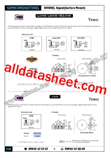 ls 4148 diode ls4148 データシート pdf temic semiconductors