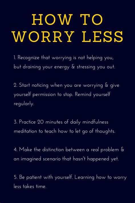 quotes about worrying best 25 stop worrying quotes ideas on best