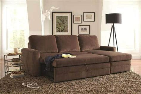 gus sofa bed gus sectional sofa with pull out bed and storage all
