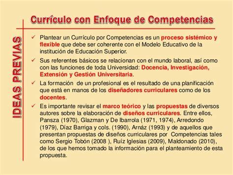 Caracteristicas Modelo Curricular Por Competencias Propuesta De Dise 241 O Curricular Por Competencias