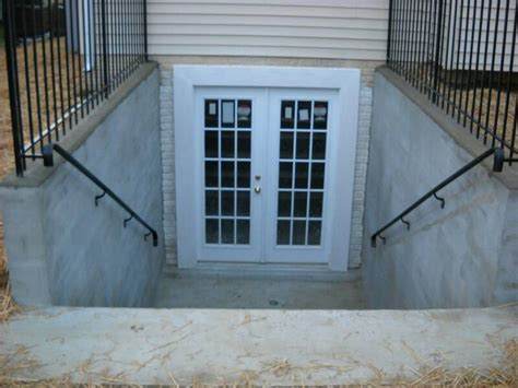 Basement Walk Out Doors | tricks for installing walkout basement doors stone and