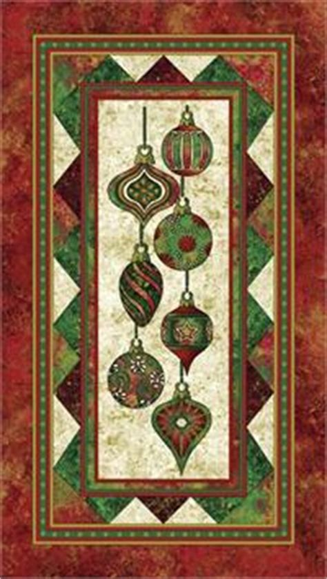 northcott stonehenge holiday fabric ornaments panel at