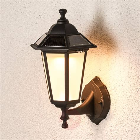 Solar Wall Lights Outdoor Uk Solar Kristin Led Outdoor Wall Light Lights Co Uk