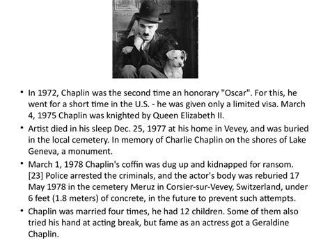 Charlie Chaplin Biography Powerpoint | charlie chaplin online presentation