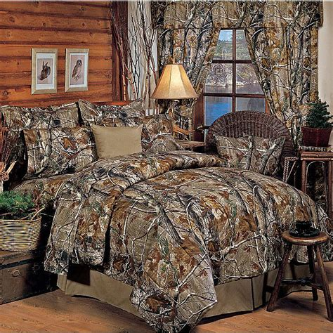 Realtree All Purpose Ap Camo Comforter Set Bed In A Bag Realtree Camo Bedding