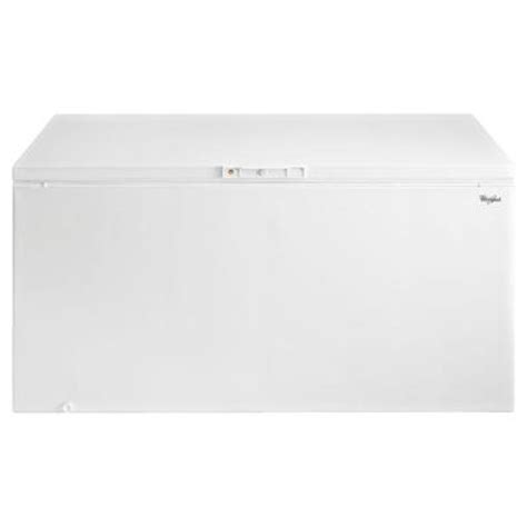 whirlpool 21 7 cu ft chest freezer in white eh225fxtq