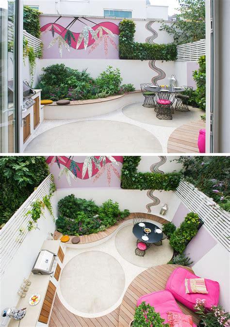 allestire un giardino come allestire un giardino dal design moderno con tante