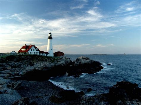 lighthouses visit maine