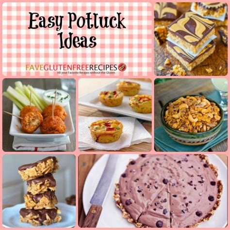 potluck dish ideas 40 easy potluck ideas faveglutenfreerecipes