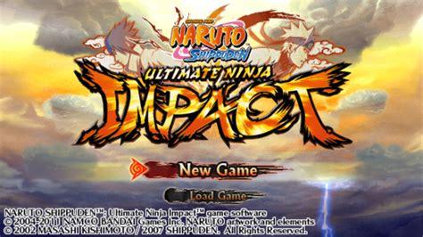 naruto shippuden ultimate ninja impact europe iso