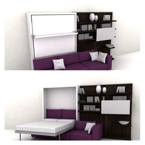wall bed sofa space saving multi use