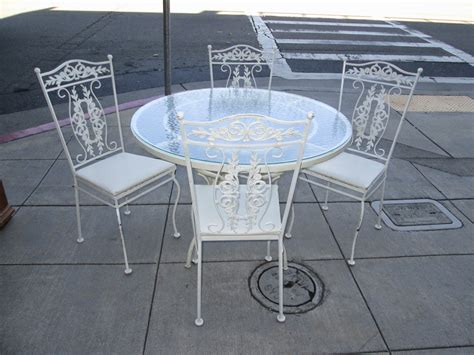 uhuru furniture collectibles sold wrought iron glass