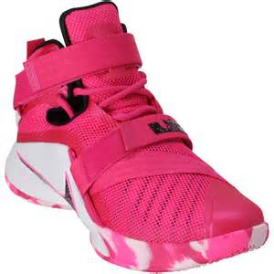 s nike lebron pink soldier ix basketball shoes nba store