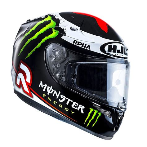Motorradhelm Moto Gp by Hjc R Pha10 Plus Lorenzo 2013 Monster Energy Moto Gp