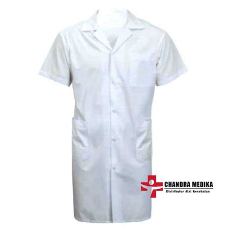 Diskon Jas Lab Jas Laboratorium Lengan Pendek jas laboratorium lengan pendek nyaman dipakai harga murah