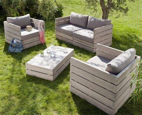 39 Ideas About Pallet Outdoor Furniture For Modern Look Wooden Pallet Outdoor Furniture