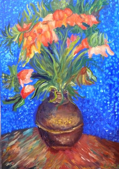 Gogh Vase With Flowers by Gogh Vase Of Flowers Vases Sale