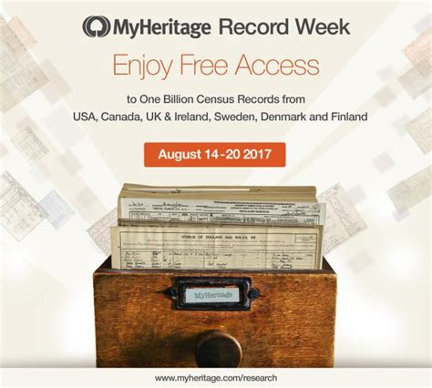 Free Access To Records Free Access To Myheritage S 8 Billion Records Lds Media Talk New Resources