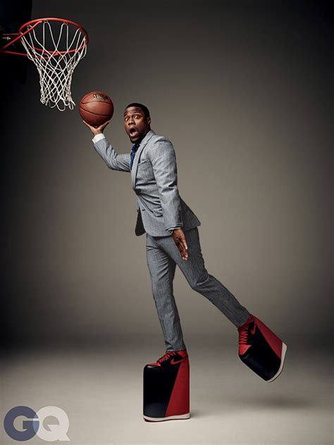 basketball platform shoes kevin hart in air 1 quot bred quot platform shoes for gq