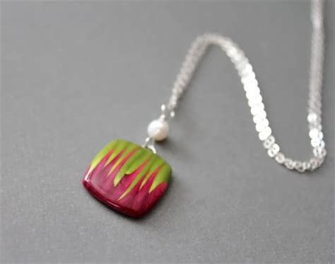 how to make jewelry with clay polymer clay pendant necklace jewelry journal