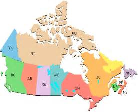 map of canada with regions map of canada city geography