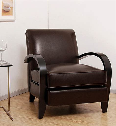 Overstock Leather Chair by Bloomington Brown Leather Chair