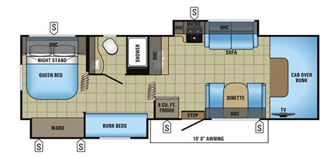 jayco floor plans 2017 redhawk class c motorhome floorplans prices jayco