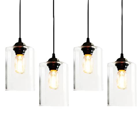 clear glass pendant lights clear glass jar pendant lighting 7395 free ship browse