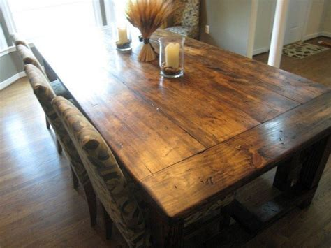 How To Build A Rustic Dining Room Table Diy Dining Table Ideas Decor Around The World