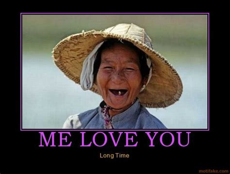 Me Love You Long Time Meme - spitting full metal jacket like me love you long time